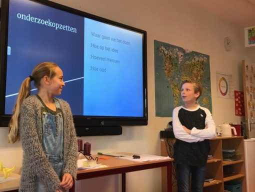 In the picture: OBS Het Talent
