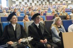250 leerlingen volgen kindercollege aan Erasmus Universiteit Rotterdam