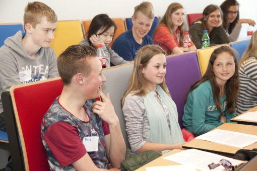 'Science meets you!'- colleges als cadeau aan scholieren